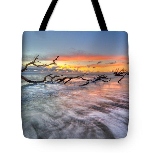 Rush Tote Bag by Debra and Dave Vanderlaan