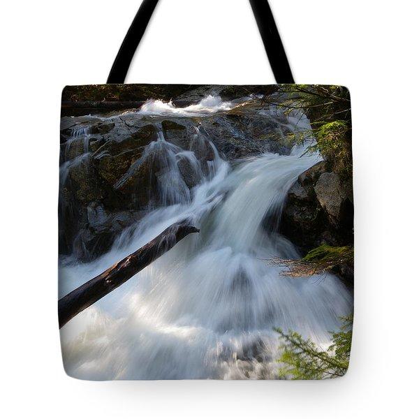 Rushing Falls Tote Bag by Sarah Lamoureux