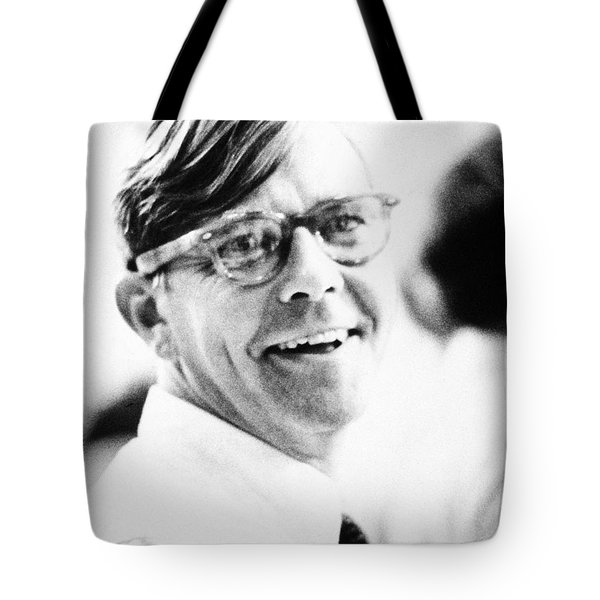 Russell Baker (1925- ) Tote Bag by Granger