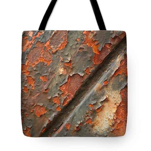 Rust IIi Tote Bag by Winston Rockwell