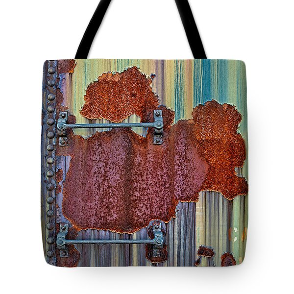 Rusted Art Tote Bag by Susan Candelario