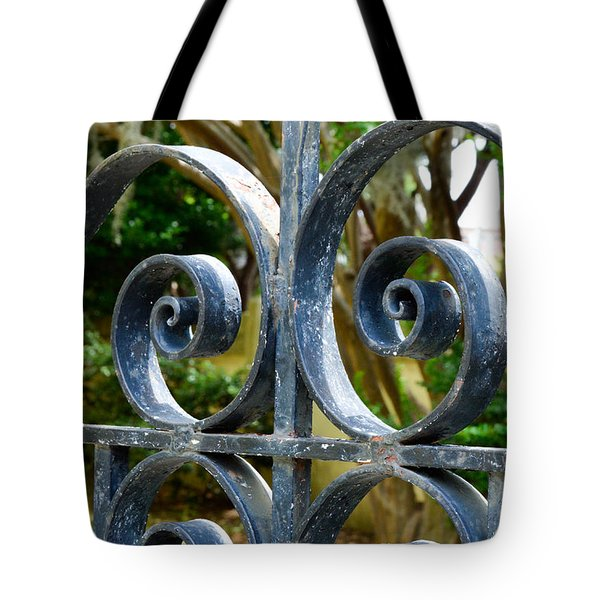 Rusted Charleston Ironwork Tote Bag