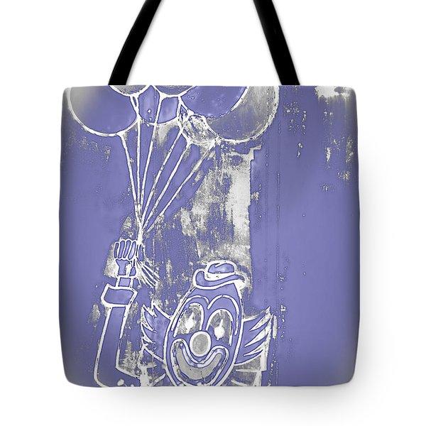 Rustic Clown Tote Bag by Melany Sarafis