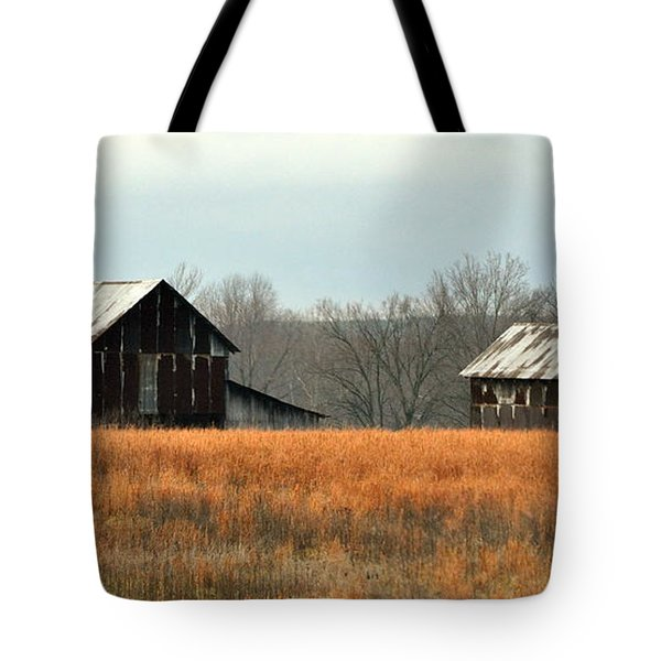 Rustic Illinois Tote Bag by Marty Koch