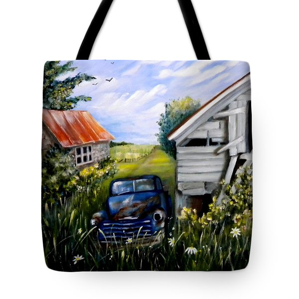 Rustic Partners Tote Bag by Renate Nadi Wesley