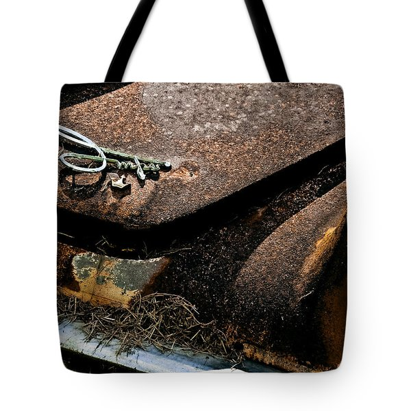 Rusty Impe Tote Bag by DigiArt Diaries by Vicky B Fuller