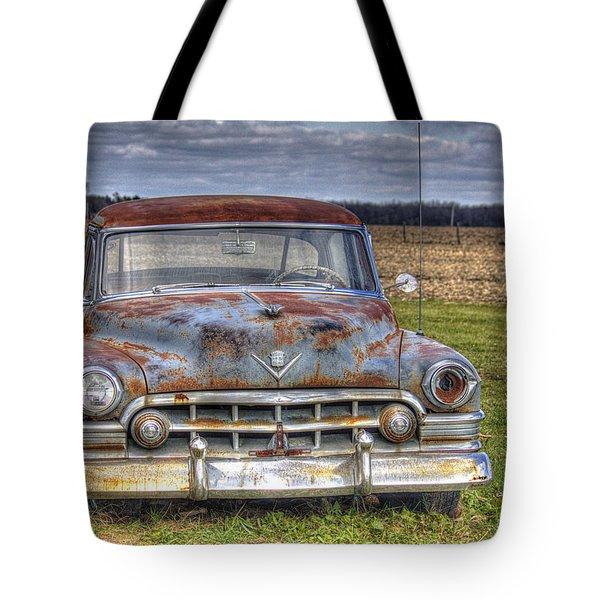 Rusty Old Cadillac - Torcwori Tote Bag