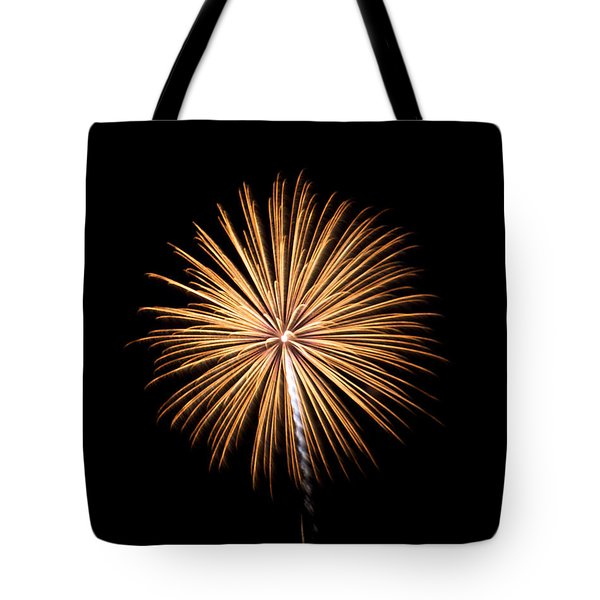 Tote Bag featuring the photograph Rvr Fireworks 27 by Mark Dodd