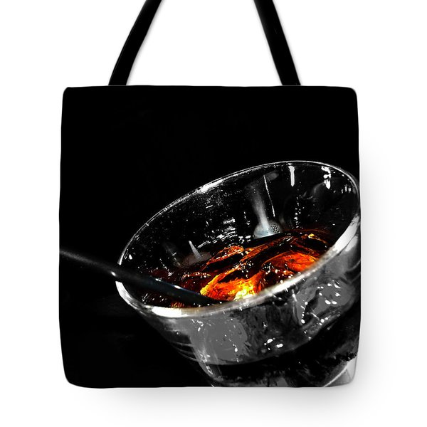 Rye And Coke Please Tote Bag by Jerry Cordeiro
