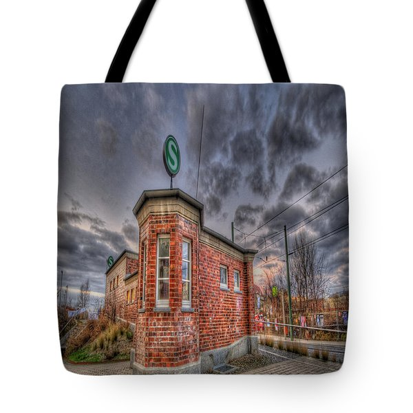 S Bahn Eck Tote Bag by Nathan Wright