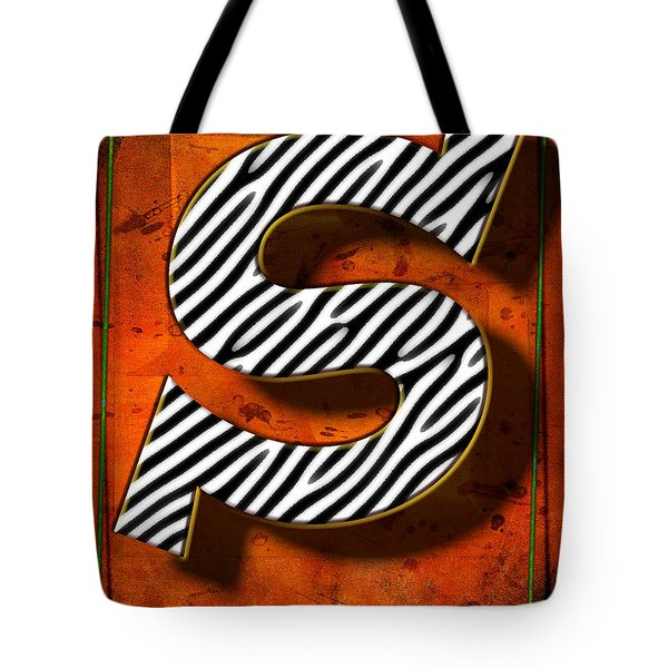 S Tote Bag by Mauro Celotti