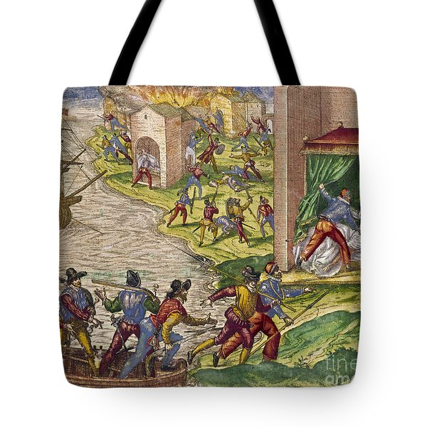 Sack Of Cartagena, C1544 Tote Bag by Granger