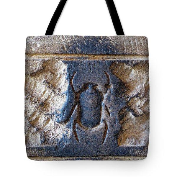 Sacred Scarab. Tote Bag by JSM Fine Arts John Malone