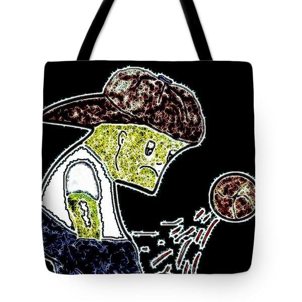 Saddened Tote Bag by Lisa Stanley
