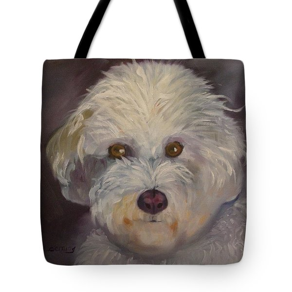 Tote Bag featuring the painting Sadie by Carol Berning