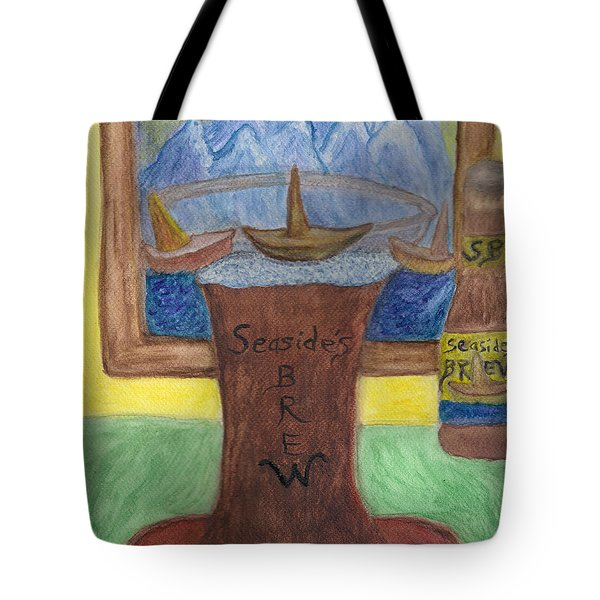 Sail A Head  Tote Bag