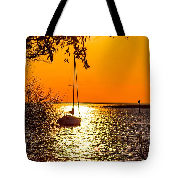 Tote Bag featuring the photograph Sail Away by Shannon Harrington