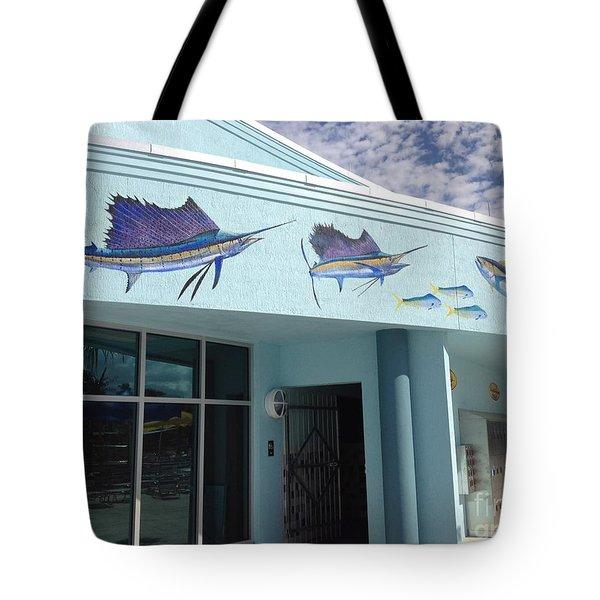 Sailfish Splash Park 5 Tote Bag