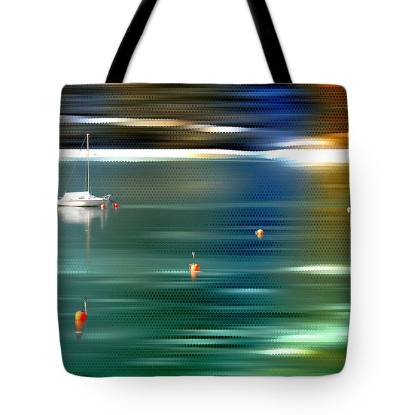 Sailing  Tote Bag by Hannes Cmarits