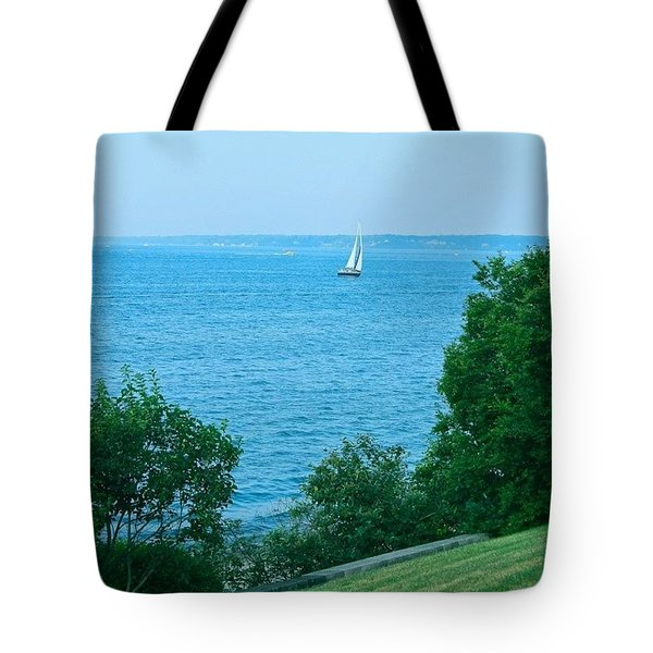 Sailing Lake Ontario Tote Bag