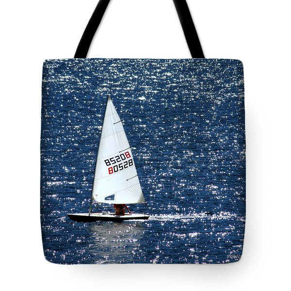 Tote Bag featuring the photograph Sailing by Patrick Witz