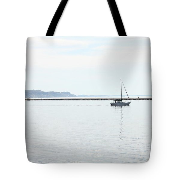 Sailing Tote Bag by Sheryl Burns