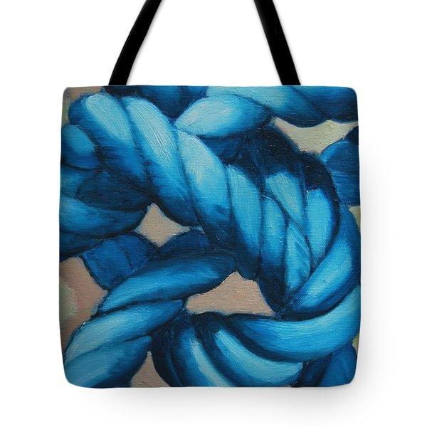 Sailor Knot 8 Tote Bag by Ana Maria Edulescu