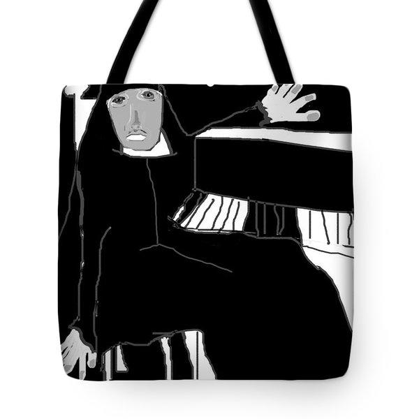 Saint Cecelia Tote Bag