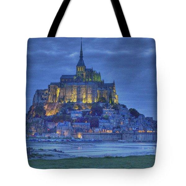 Saint Michaels Mount  Tote Bag by Heiko Koehrer-Wagner