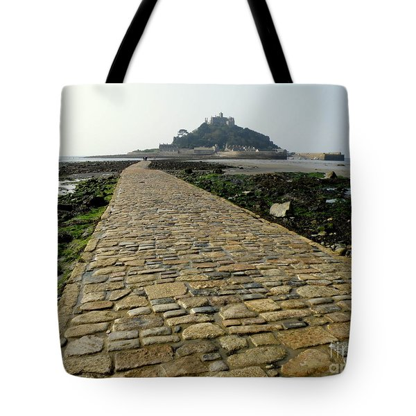 Tote Bag featuring the photograph Saint Michael's Mount by Lainie Wrightson