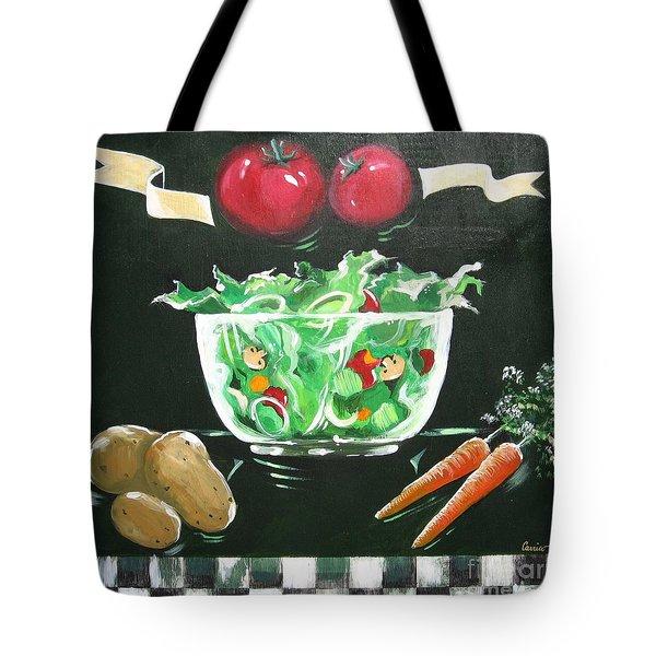 Salad Bowl Tote Bag
