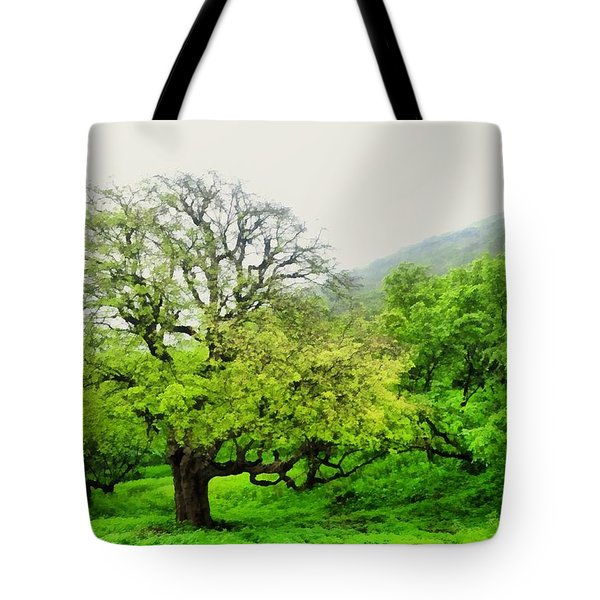 Salalah Green Tote Bag