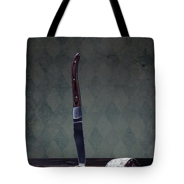 Salami Tote Bag by Joana Kruse