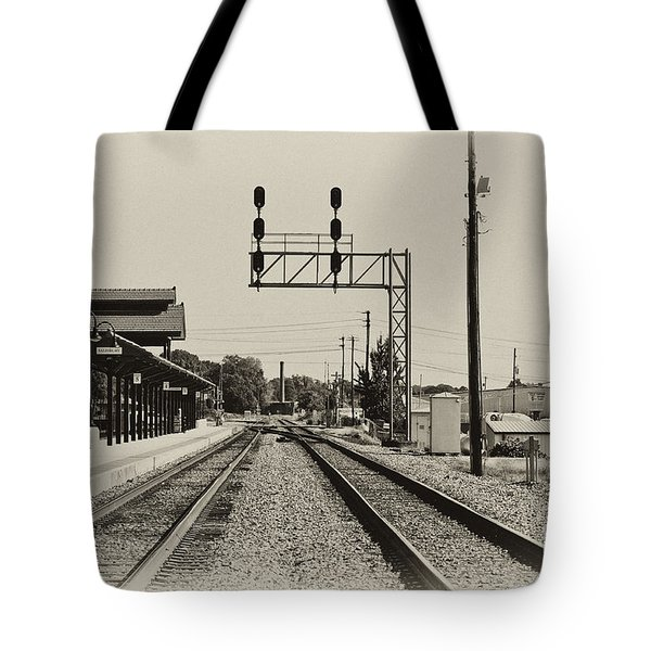 Salisbury North Carolina Depot Tote Bag