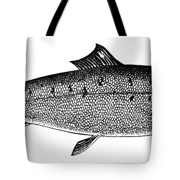 Salmon Tote Bag by Granger