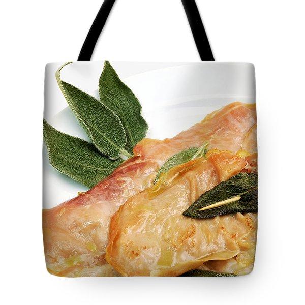 Saltinbocca Alla Romana Tote Bag
