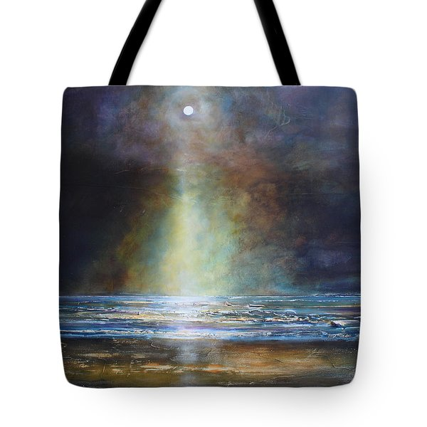 Salvation Beach Tote Bag by Toni Grote