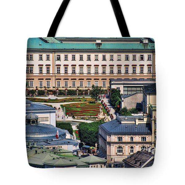 Salzburg II Austria Europe Tote Bag by Sabine Jacobs