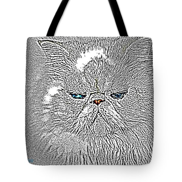 Tote Bag featuring the photograph Sam I Am  by Donna Bentley