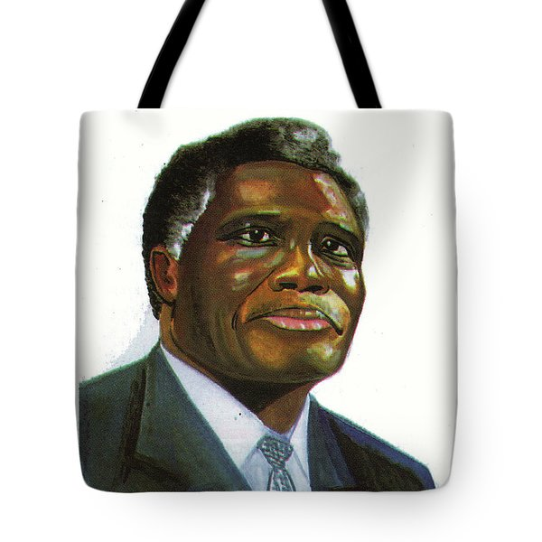 Samuel Kobia Tote Bag by Emmanuel Baliyanga