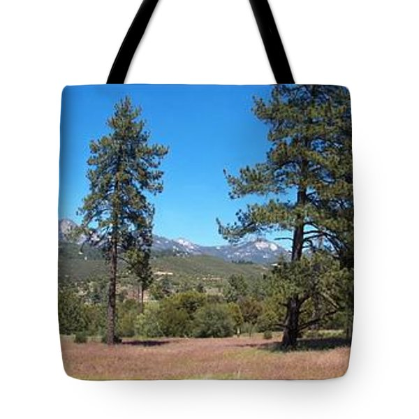 San Bernardino Forest Vista Tote Bag by Glenn McCarthy Art and Photography