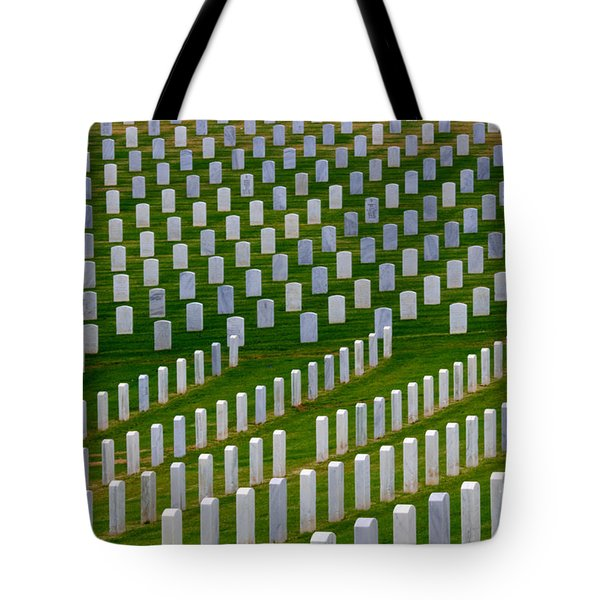 San Diego Military Memorial 2 Tote Bag by Bob Christopher