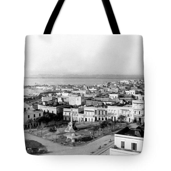 San Juan - Puerto Rico - C 1900 Tote Bag by International  Images