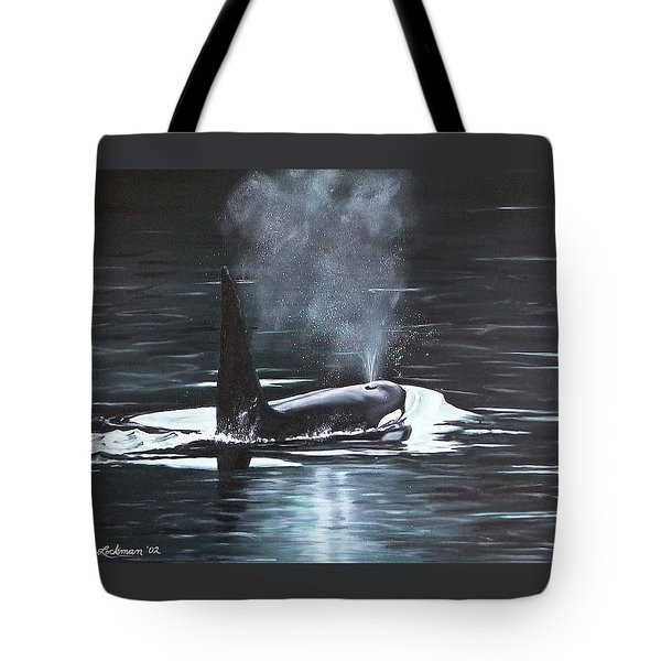 Tote Bag featuring the painting San Juan Resident by Kim Lockman