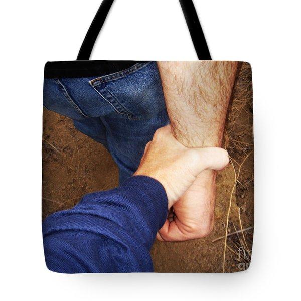 San Pasqual Battlefield Tote Bag by Linda Shafer