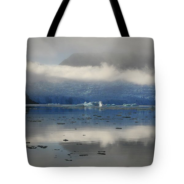 Tote Bag featuring the photograph San Rafael Glacier by Laurel Talabere