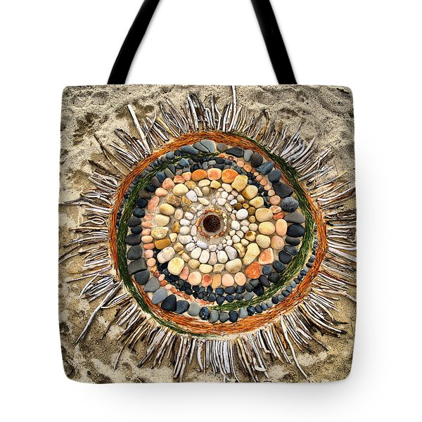Sand Art Tote Bag