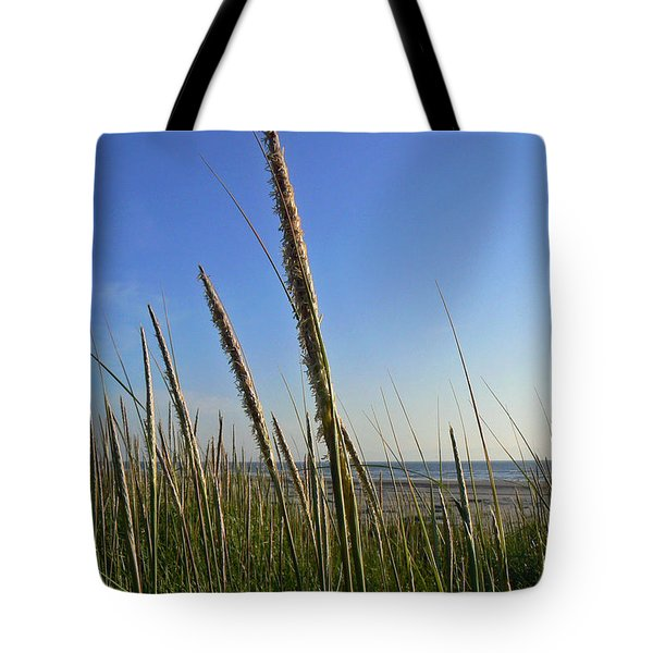 Sand Dune Grasses Tote Bag by Pamela Patch