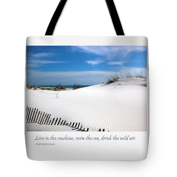 Sand Dunes Dream 3 Tote Bag