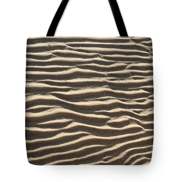 Sand Ripples Tote Bag by Photo Researchers, Inc.
